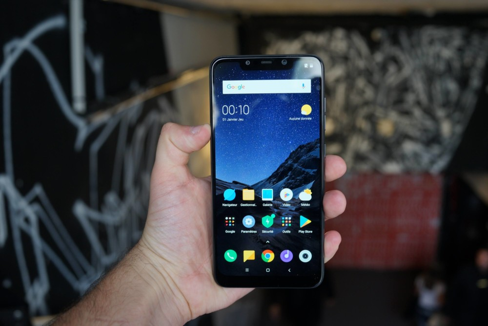 Getting started with Pocophone F1: our photos and first