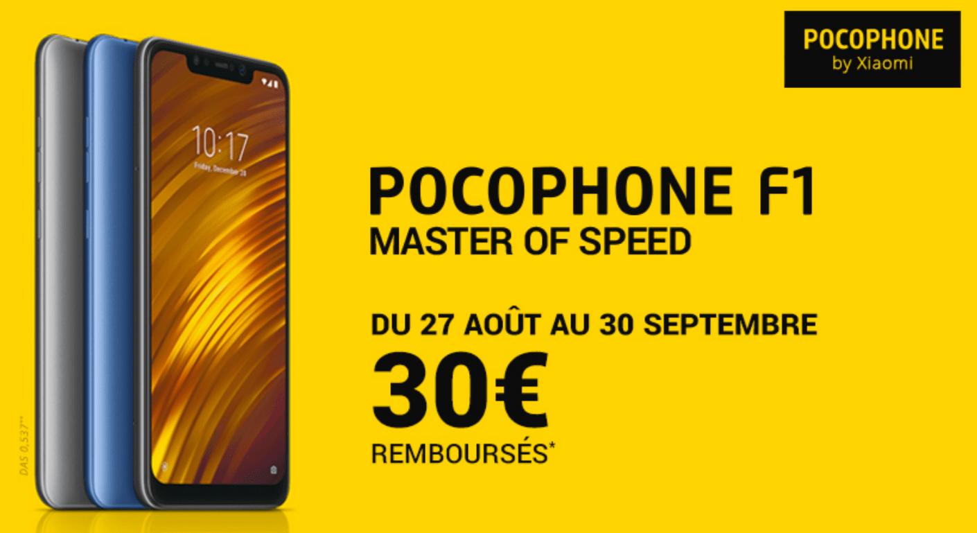 Si vous avez suivi le lancement français du Pocophone F1, vous savez  peut-être que son prix de vente en France est plus élevé que dans le reste  de l Europe. 77920ed261f2
