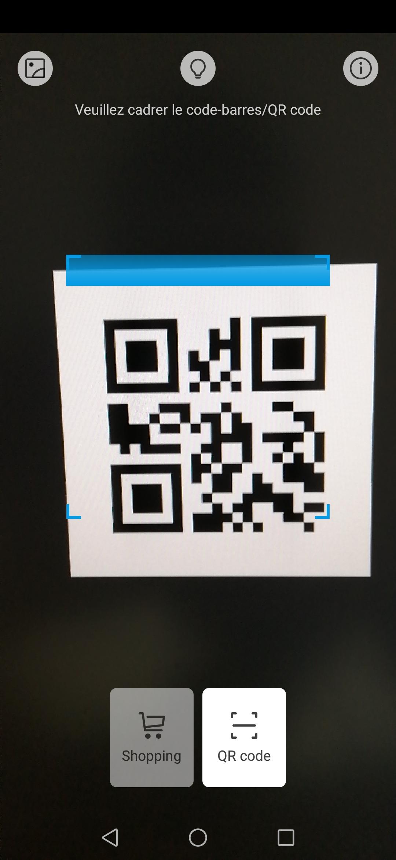 Comment scanner un QR Code sur Android ou avec un iPhone - FrAndroid