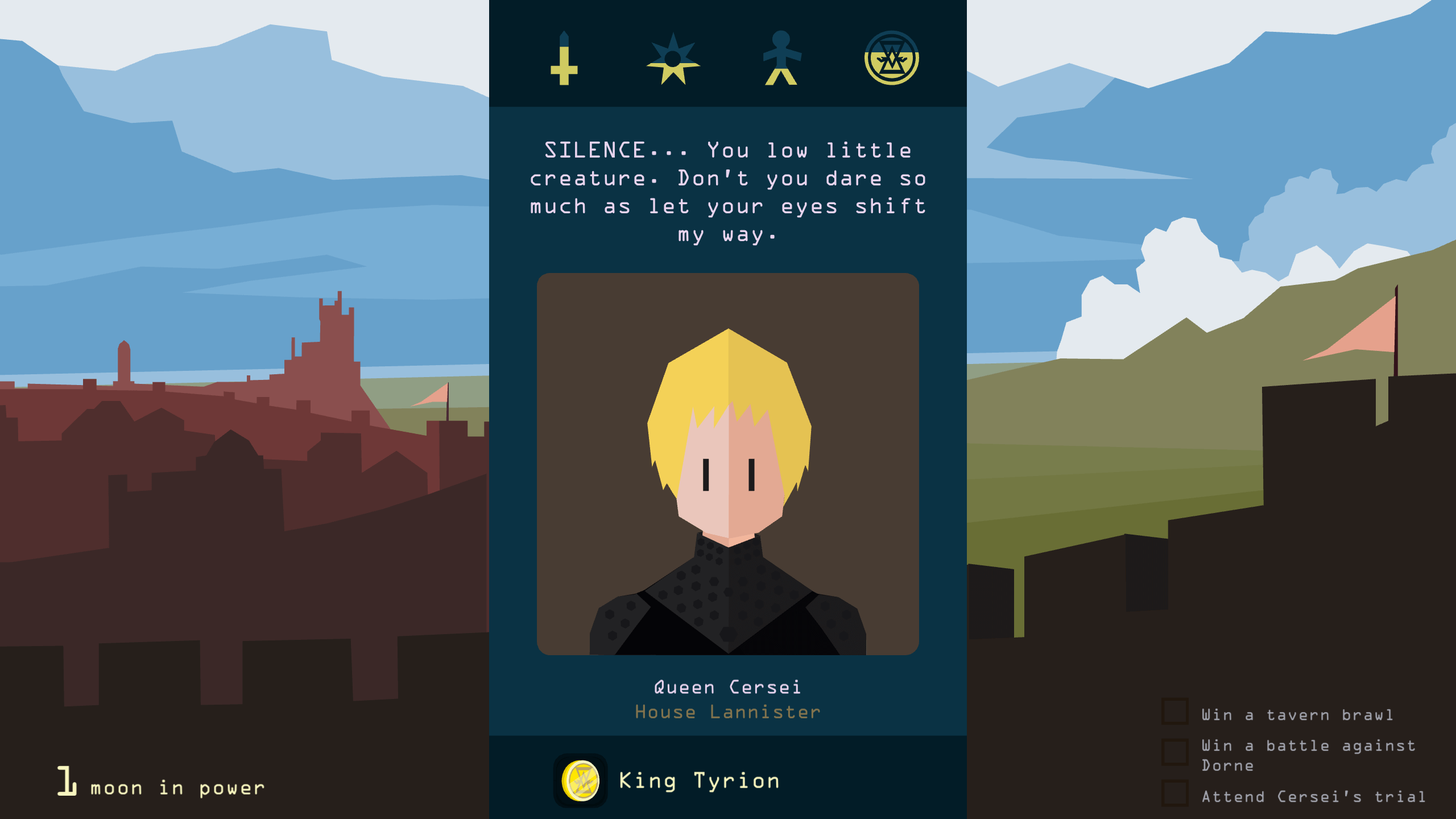 Prends le contrôle de Westeros avec Reigns : Game of Thrones !