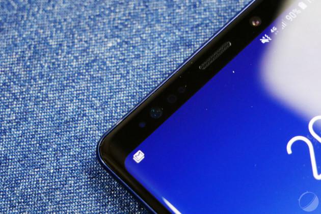 Le capteur photo du Samsung Galaxy Note 9