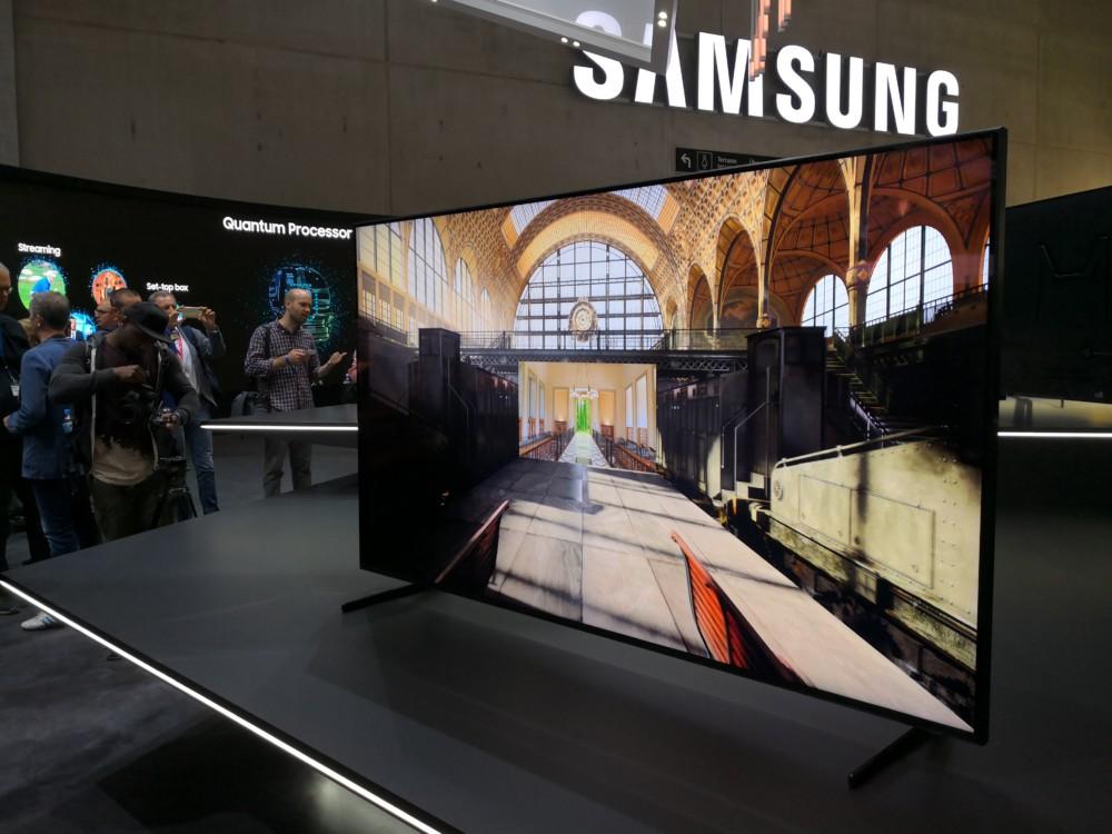 Le Samsung Q9000R présenté à l'IFA de Berlin