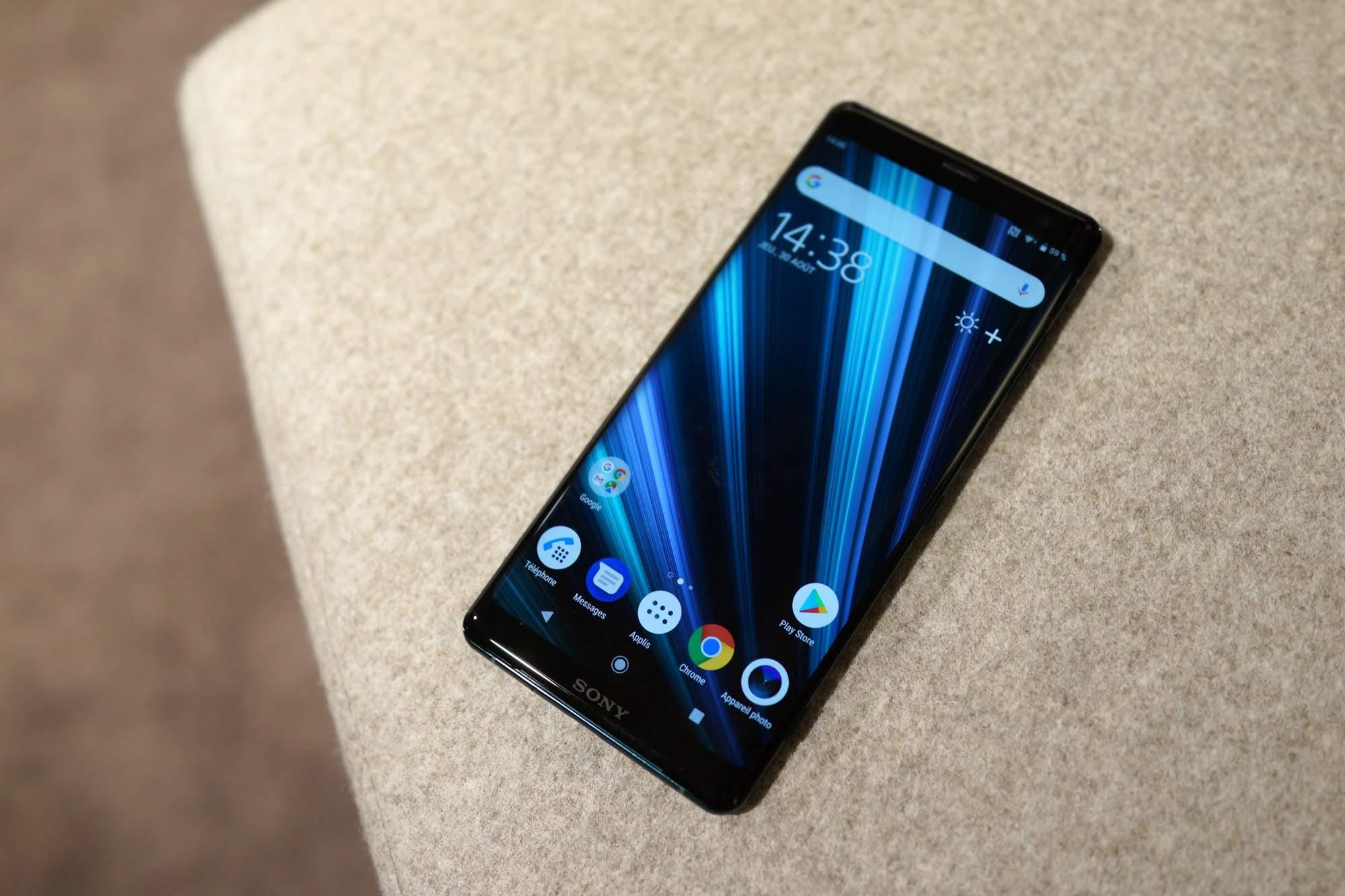 Sony Xperia XZ3, un smartphone de 6 pouces sans bords — IFA