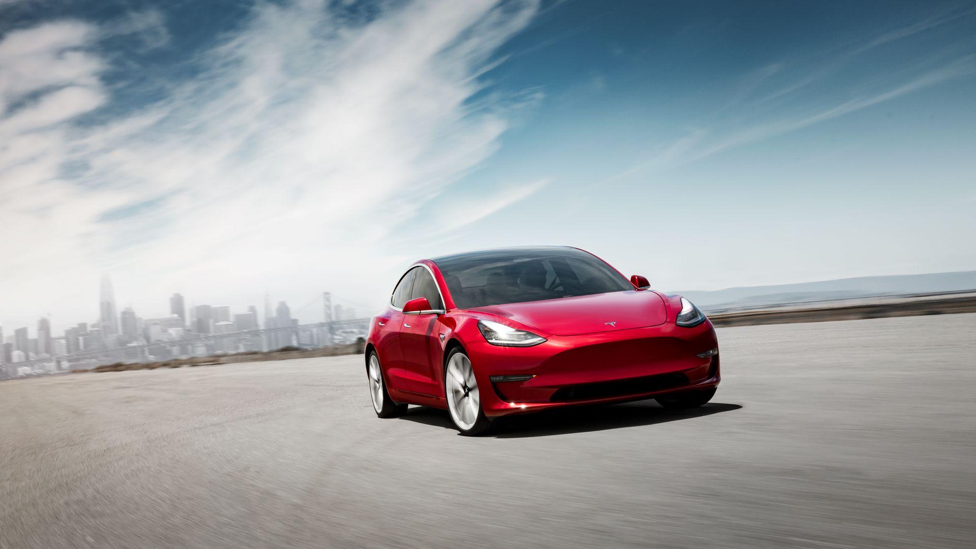 Meilleur Voiture Electrique >> France En Fevrier La Tesla Model 3 A Surpasse La Voiture