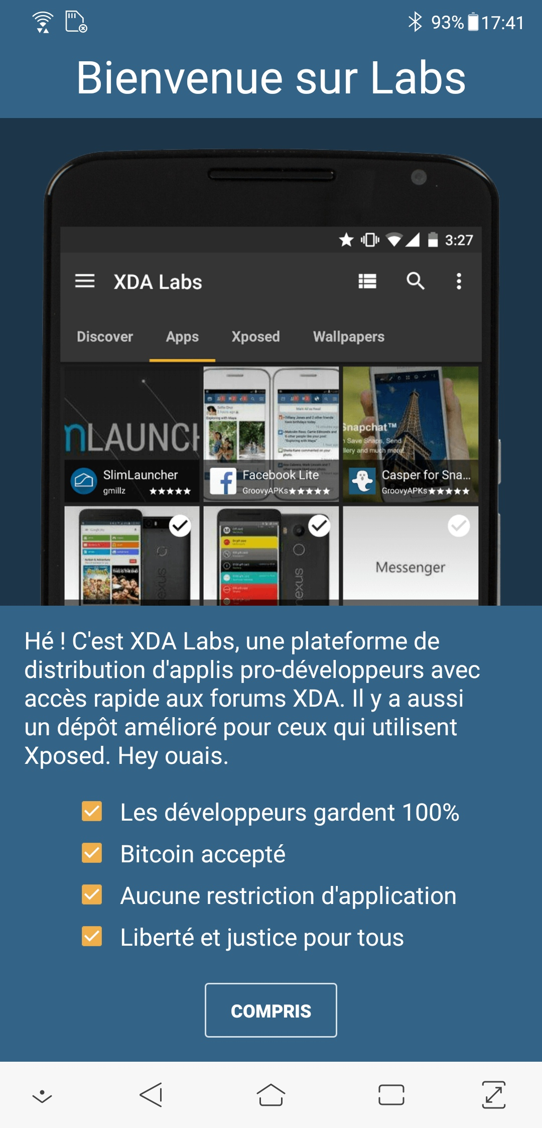 Les meilleures alternatives au Google Play Store