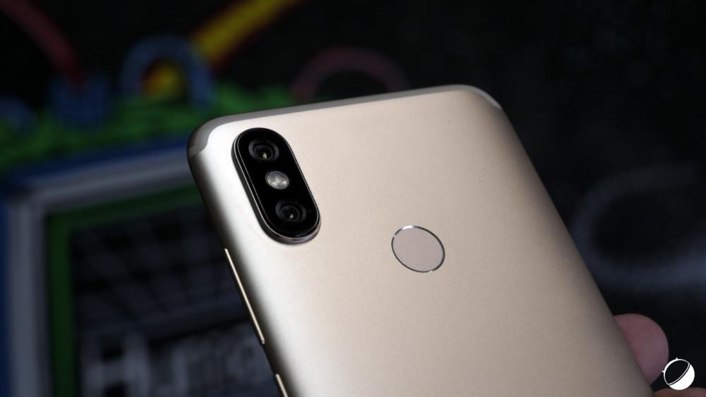 Le double appareil photo du Xiaomi Mi A2 pour illustration
