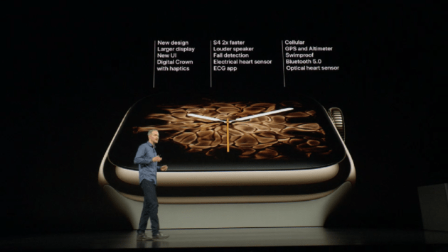 Apple Watch Series 4 officialisée : la santé cardiaque au cœur de la montre