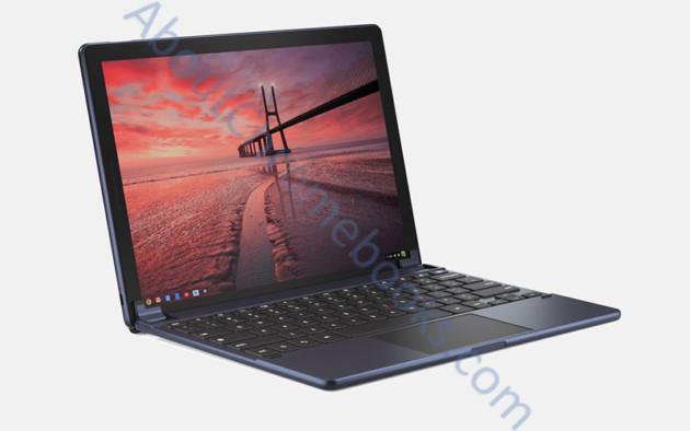 La tablette Google Pixelbook sous Chrome OS apparaît enfin en images