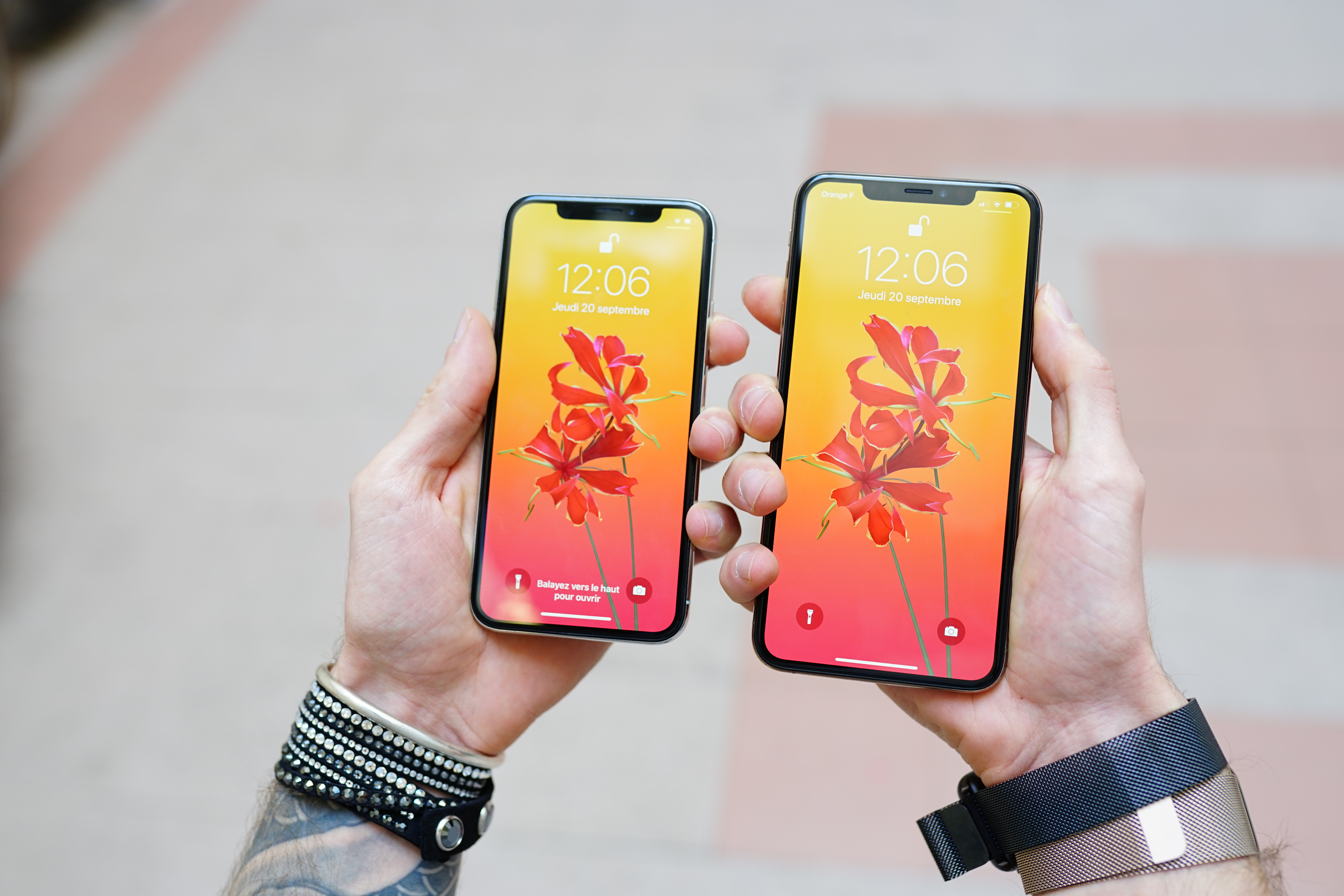 Surprise le coût de fabrication de l'iPhone XS Max est