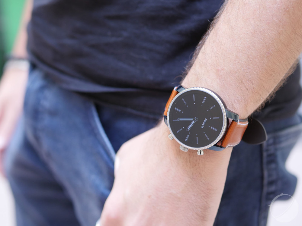 The Fossil Q Explorist watch
