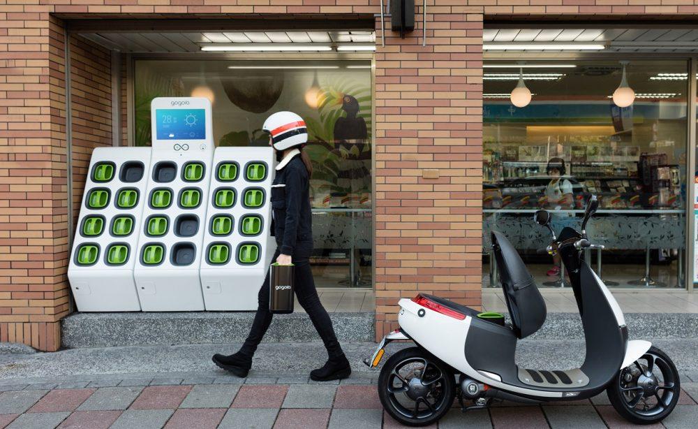 avec ses scooters batterie interchangeable yamaha cherche r volutionner le v hicule. Black Bedroom Furniture Sets. Home Design Ideas