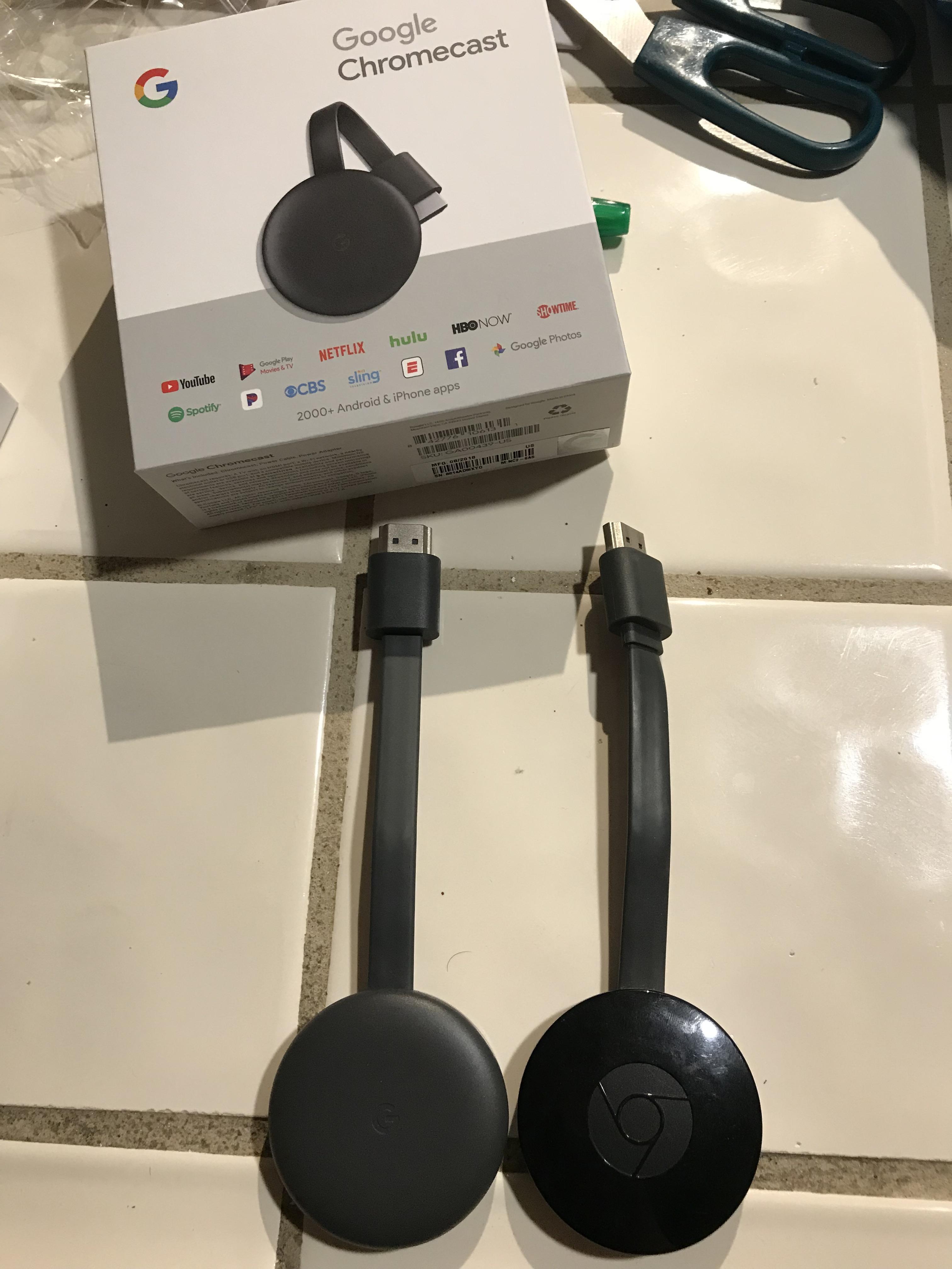 Google Chromecast 3 : quand Best Buy vend un modèle qui n
