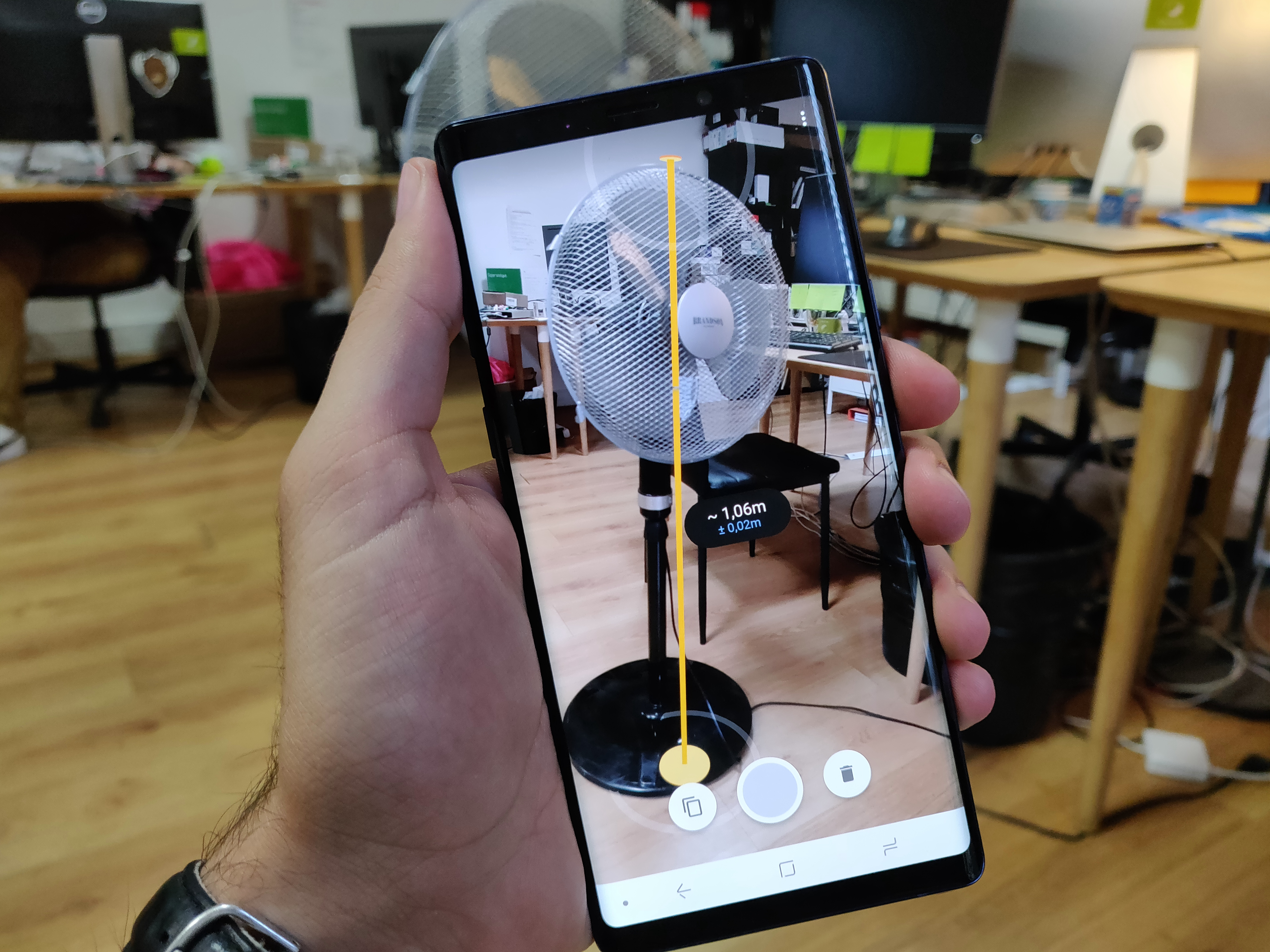 l 39 app de la semaine google mesure la taille de vos. Black Bedroom Furniture Sets. Home Design Ideas