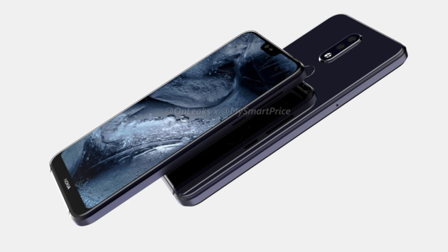 Rendu du Nokia7.1 Plus