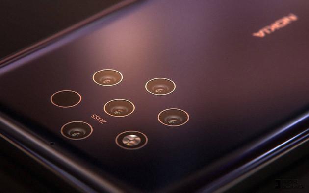 Vue d'artiste du Nokia 9