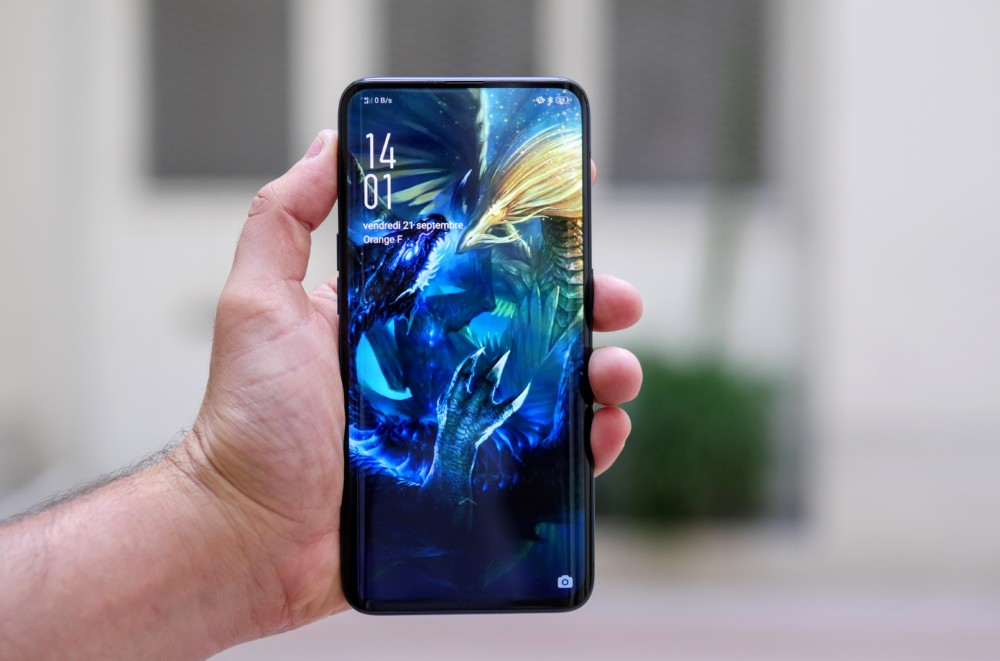 Le premier Oppo Find X