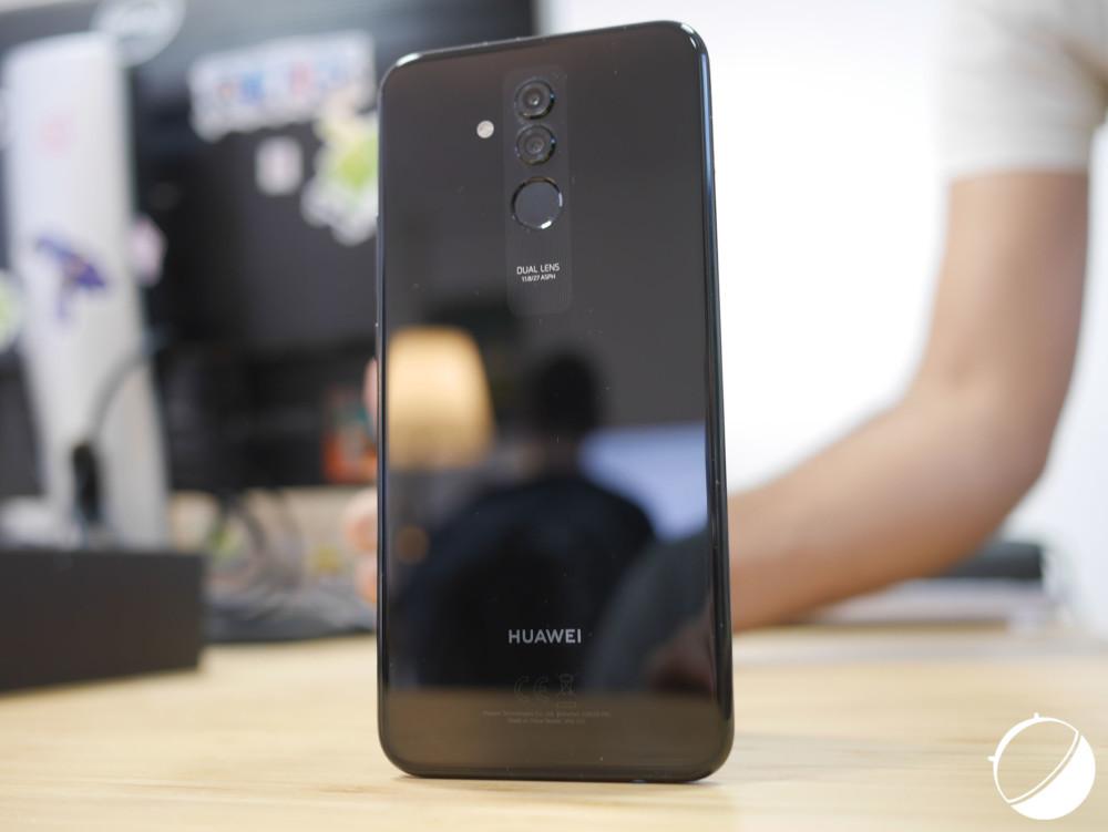 Le Huawei Mate 20 Lite pour illustration