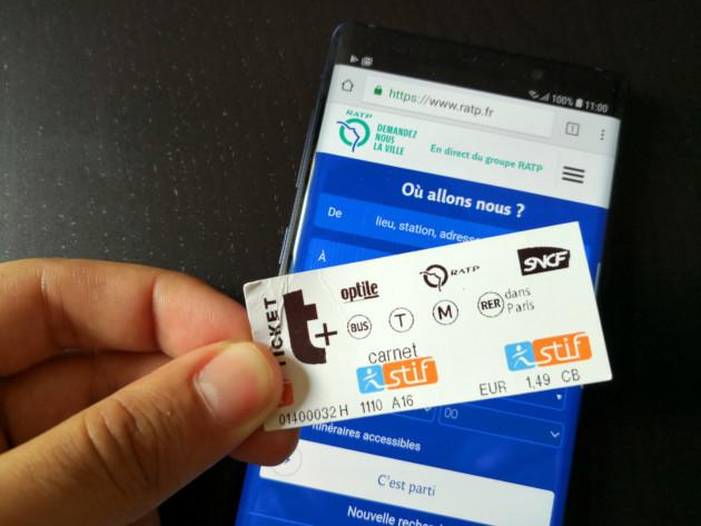 RATP : certains usagers peuvent déjà stocker leur ticket de métro sur leur smartphone