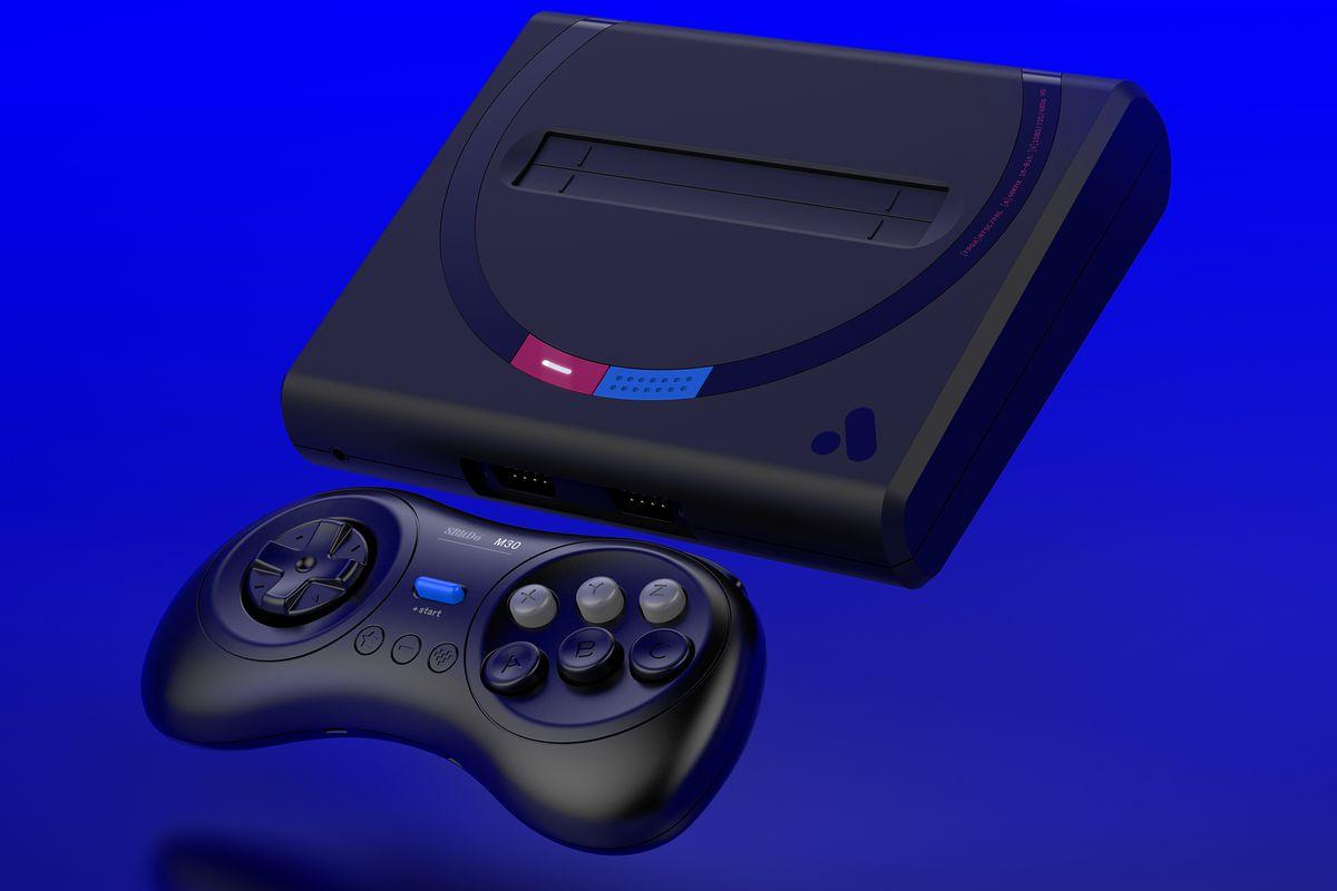 mega sg cette mini console promet la meilleure exp rience pour les jeux 8 bits et 16 bits de. Black Bedroom Furniture Sets. Home Design Ideas