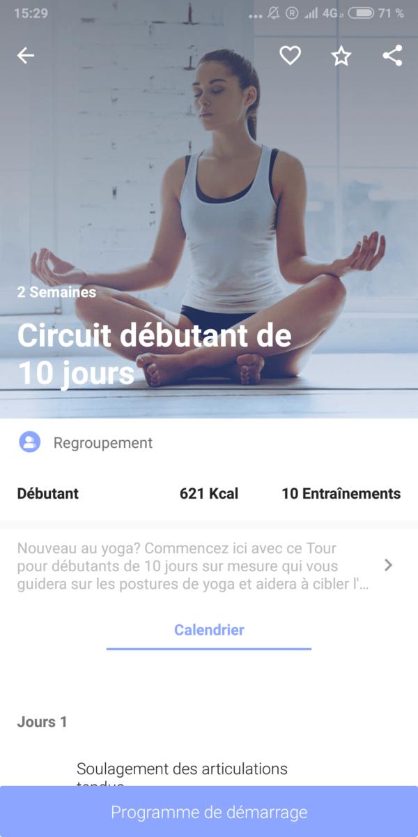 Notre sélection des 5 meilleures applications pour pratiquer le yoga -  FrAndroid 1d851964312