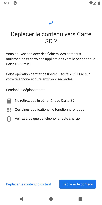 Comment Copier Ou Deplacer Ses Fichiers Et Applications Vers La Carte Sd Sur Android