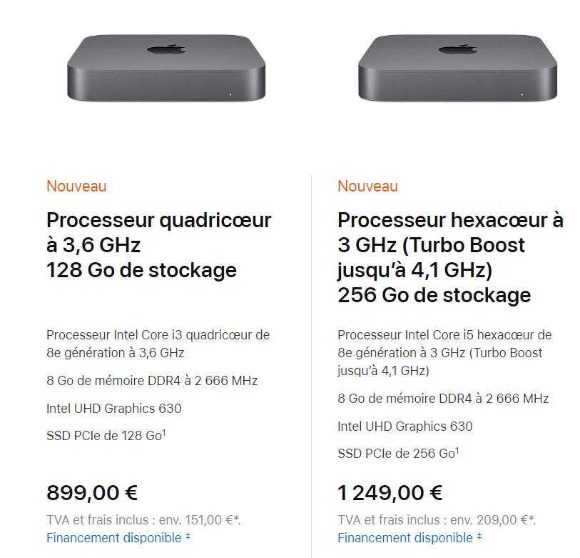 Apple Mac mini : toujours petit, encore plus costaud