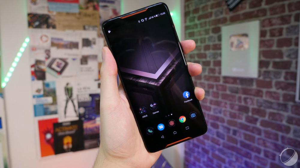 Le premier Asus ROG Phone, pour illustration