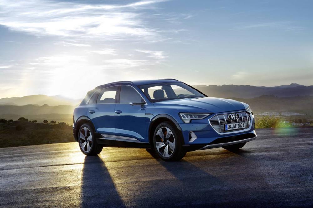 L'Audi e-tron, dans sa version que nous connaissons actuellement.