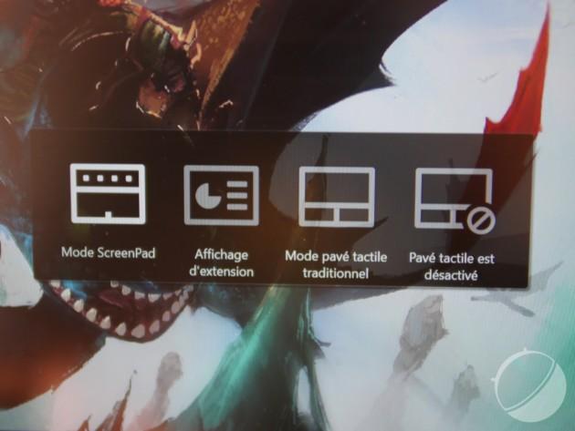Test de l'Asus Zenbook Pro 15 (2018) : le polyvalent qui remplace le touchpad par un écran tactile