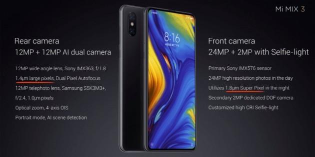 Xiaomi Mi Mix 3 : le flagship à slider est officialisé