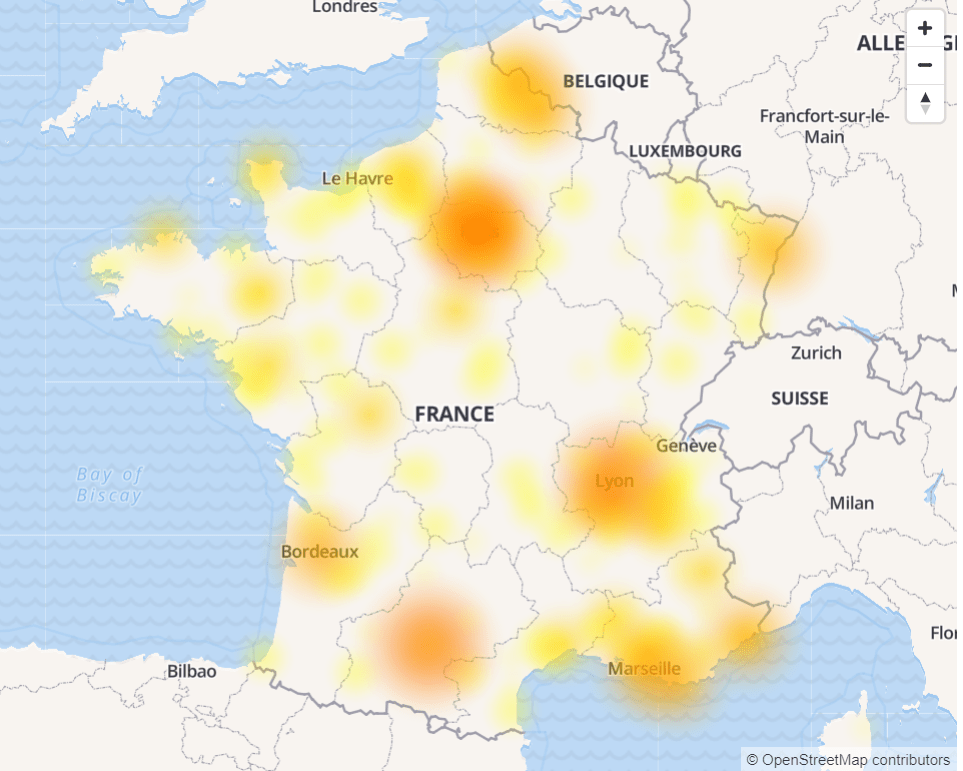 Free : une panne touche actuellement le réseau fixe sur la région sud-est