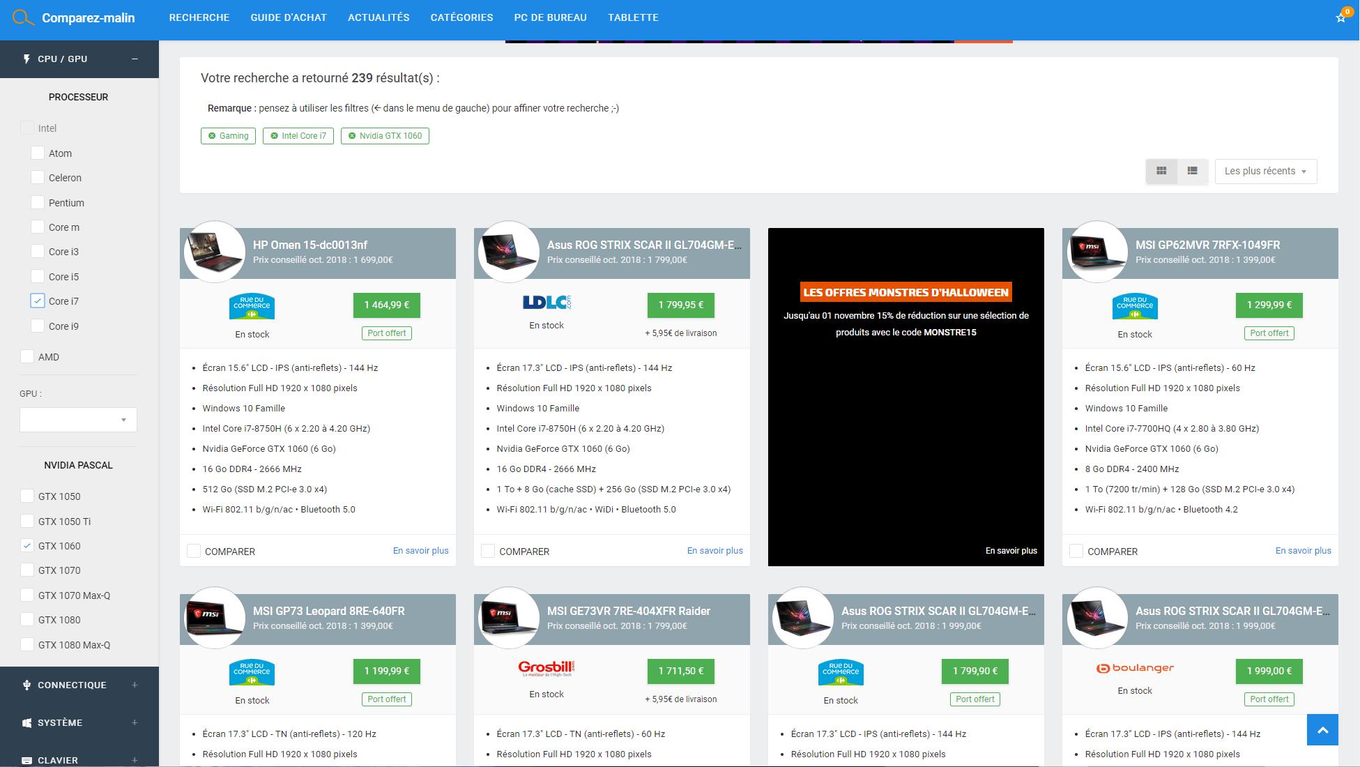 Le site Comparez malin répond tout bonnement à cette question. Ce  comparateur de prix accueille plus de 3000 références issues d une  multitude d enseignes ... da9e6db397c7
