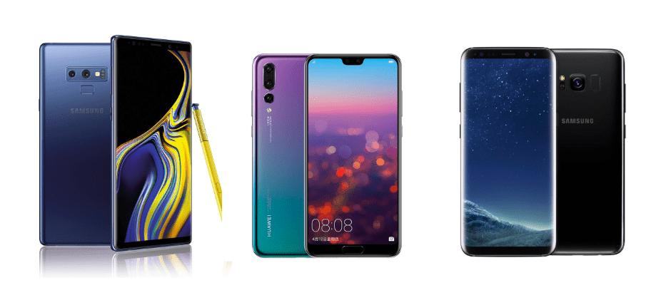 eBay nous fait profiter encore une fois d'une belle sélection de produits en promotion. Retrouvez le Samsung Galaxy Note9, le HuaweiP20 Pro, le Samsung GalaxyS8+ et d'autres appareils à très bon prix.