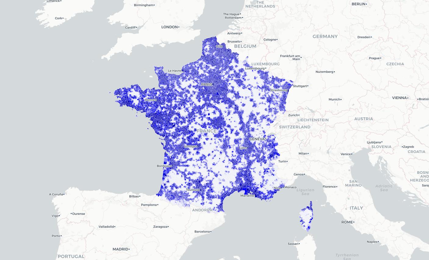 Orange, Free Mobile, SFR et Bouygues Telecom : les cartes pour comprendre la couverture 4G par fréquences