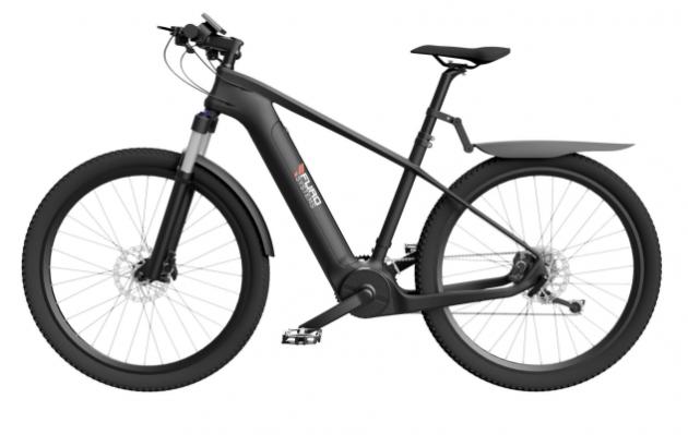 «Un cadre full carbone dans un vélo électrique? Le FuroSystems Sierra»