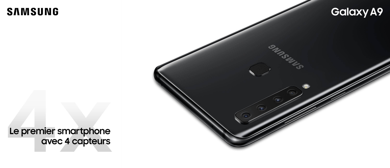 Galaxy A9 Black Single 2P Wide CP
