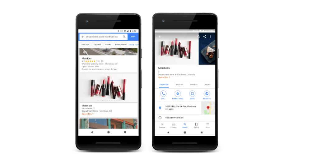 Google Maps vous alertera en cas de promotions dans vos boutiques préférées