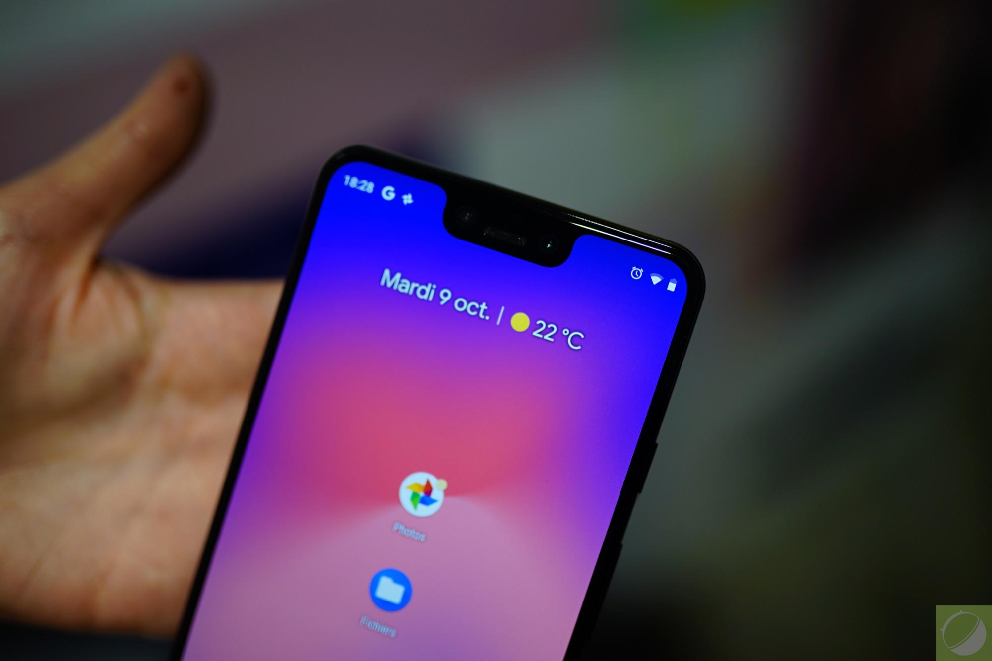 Prise en main du Google Pixel 3 XL, le smartphone le plus ...