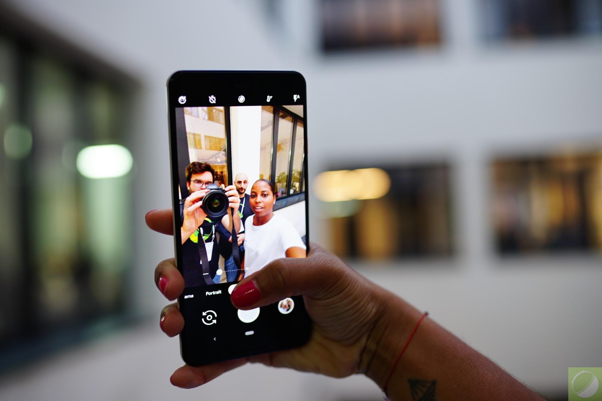 OnePlus 6 : l'appareil photo (et son mode portrait) du Pixel 3 est