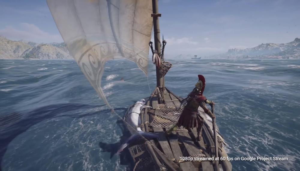 Google Project Stream veut vous faire jouer (gratuitement) à Assassin's Creed Odyssey depuis votre navigateur