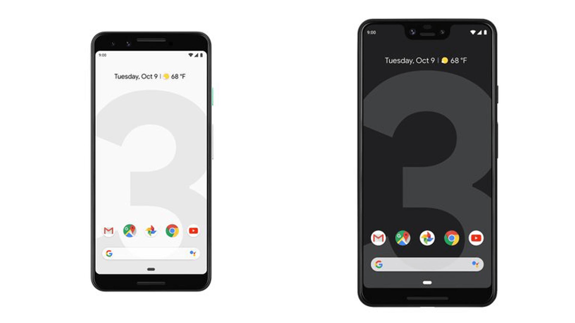 Google Pixel 3 XL vs Samsung Galaxy Note 9 vs Huawei P20 Pro