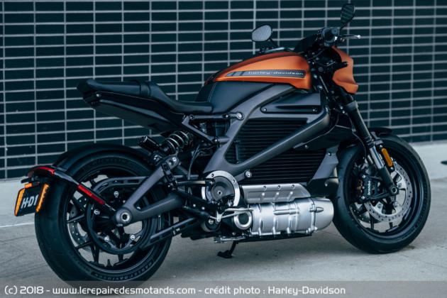 LiveWire : admirez sous tous ses angles la nouvelle moto électrique de Harley-Davidson