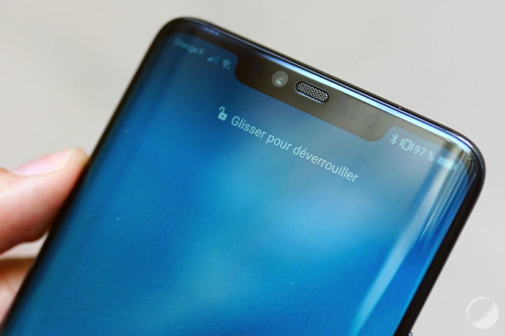 L'encoche du Huawei Mate 20 Pro