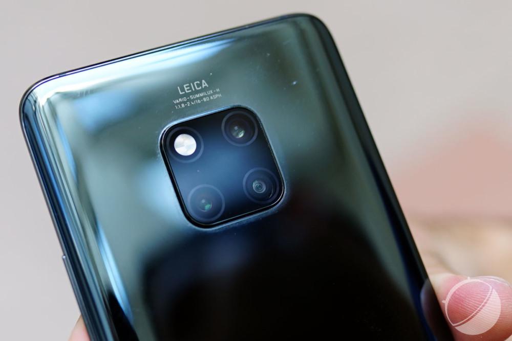 Le triple appareil photo arrière du Huawei Mate 20 Pro