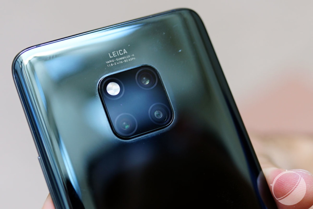 Le triple appareil photo du Huawei Mate 20 Pro