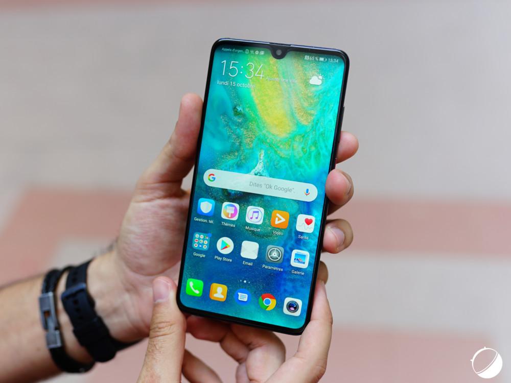 Test du Huawei Mate 20 : le faux modeste