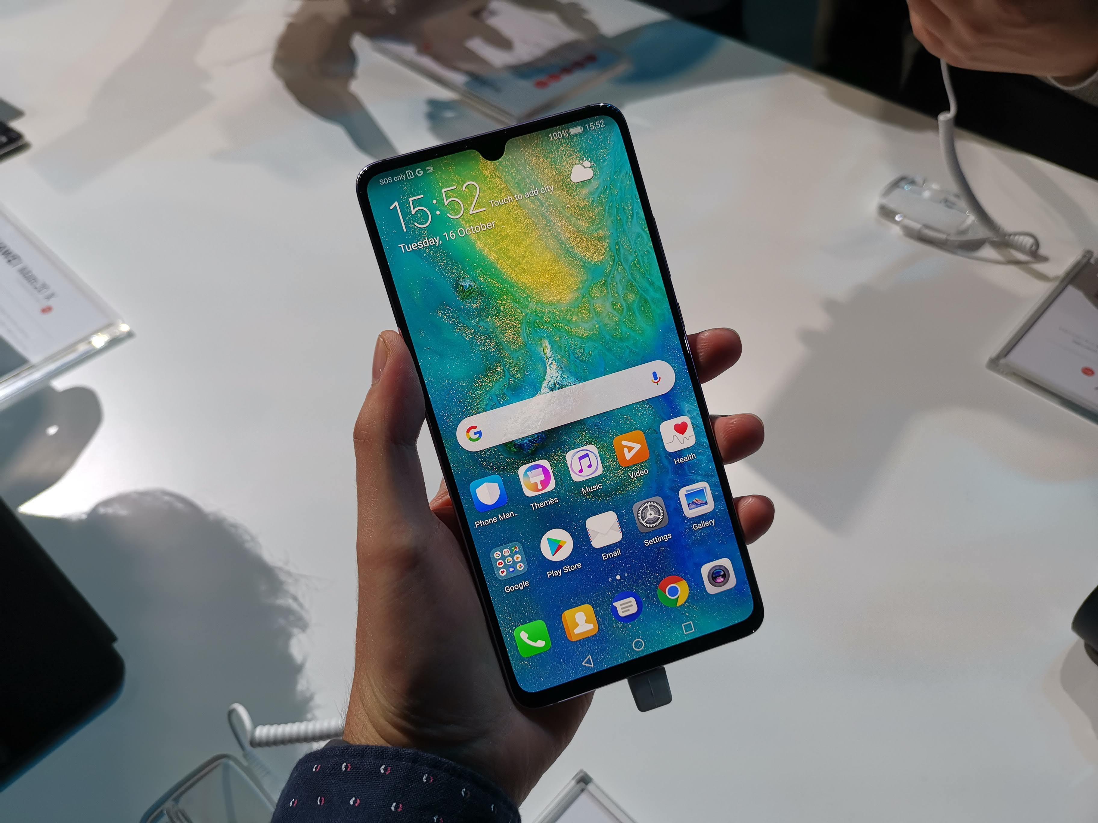Huawei Mate 20X officialisé : un stylet, un écran géant et