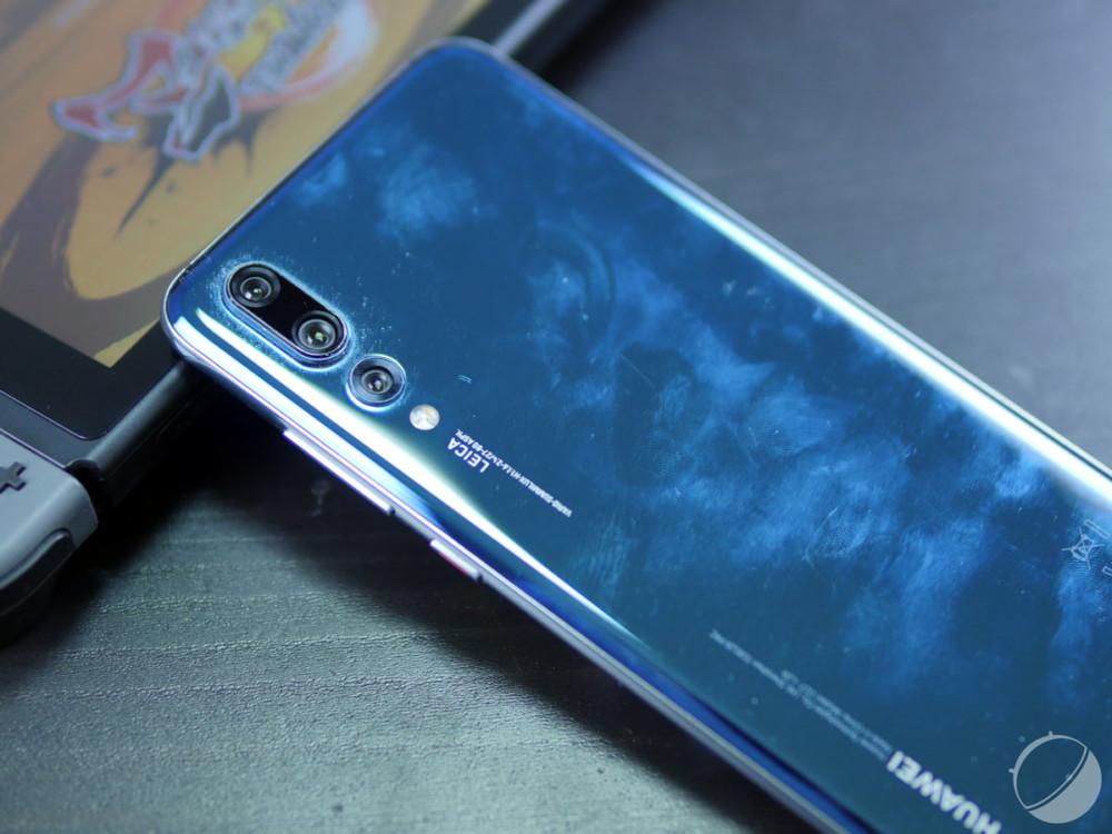 HuaweiP20 Pro (avant un nettoyage réglementaire)