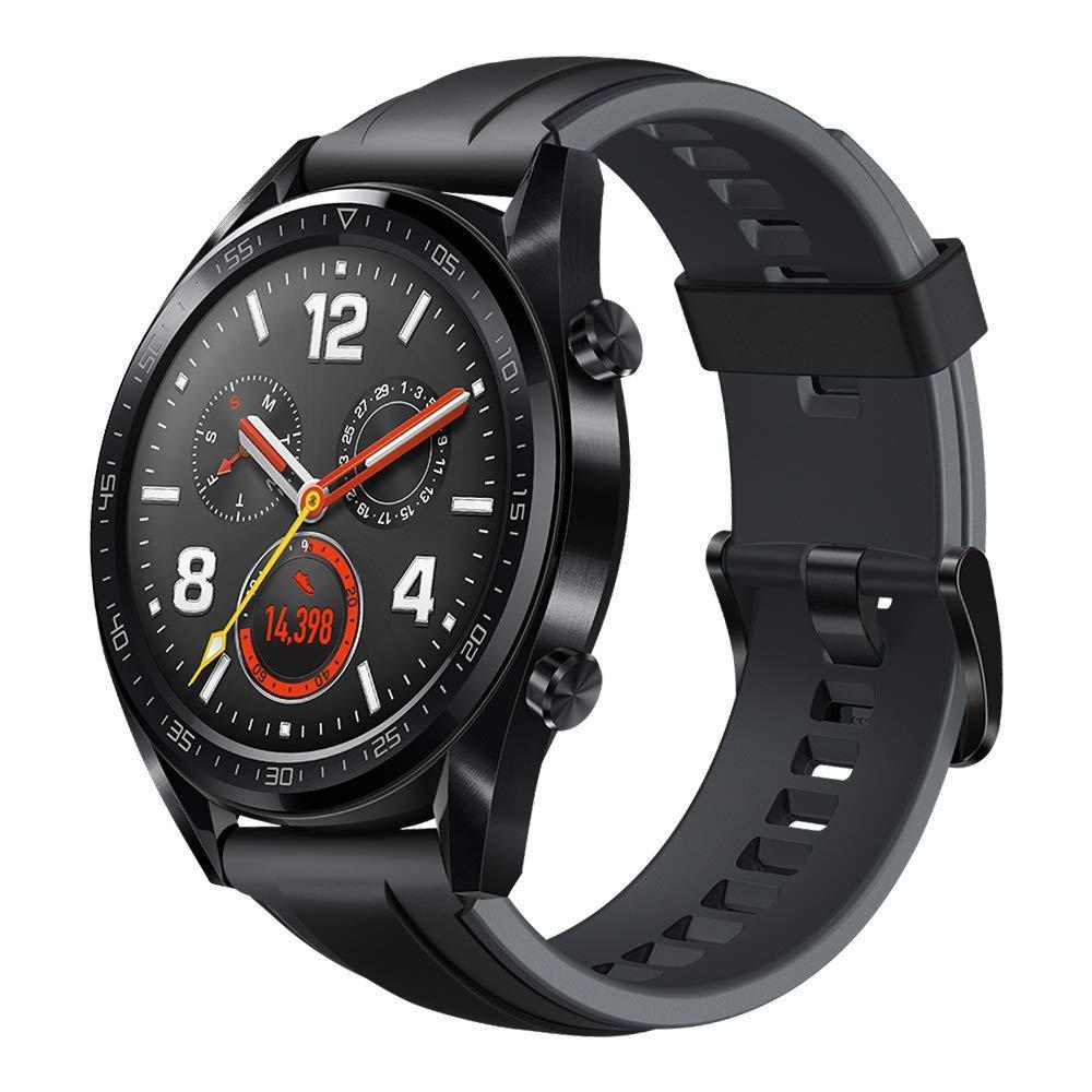 cb6aef1f82189 La montre connectée de Huawei embarque de nombreuses fonctionnalités, comme  un GPS et un capteur de fréquence cardiaque optique en plus d'un gyroscope  et ...