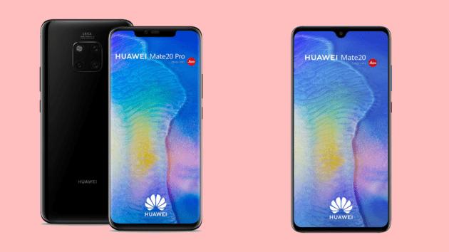 Choisir entre le Huawei Mate 20 ou le Mate 20 Pro : 200 euros d'écart pour quelles différences ?